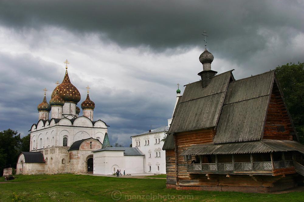 The Kremlin in Suzdal, Russia.