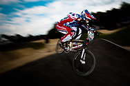 #292 (CHAUVIN Thibaud) FRA at the UCI BMX Supercross World Cup in Papendal, Netherlands.