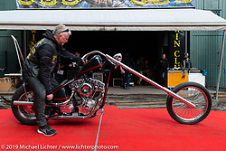 Awards ceremony during the Twin Club's annual Motorcycle Show in Norrtälje, Sweden. Saturday, June 1, 2019. Photography ©2019 Michael Lichter.