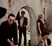 Courtney Love with Joe Strummer and Elvis Costello, Straight to Hell - 1986
