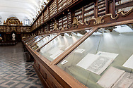 Exhibition in the Salone Monumentale, Biblioteca Casanatense, Rome, Italy