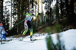 Nadezhda Skardino (BLR) during Women 12.5 km Mass Start at day 4 of IBU Biathlon World Cup 2015/16 Pokljuka, on December 20, 2015 in Rudno polje, Pokljuka, Slovenia. Photo by Ziga Zupan / Sportida