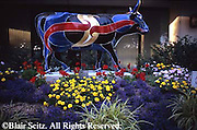 Harrisburg, PA, Cattle Theme Art Harrisburg City Center