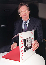 File photo dated 13/01/97 of Lord Snowdon with a copy of his book 'Snowdon on Stage', as the former husband of Princess Margaret, has died peacefully at his home on Friday aged 86, a family spokesman has said.