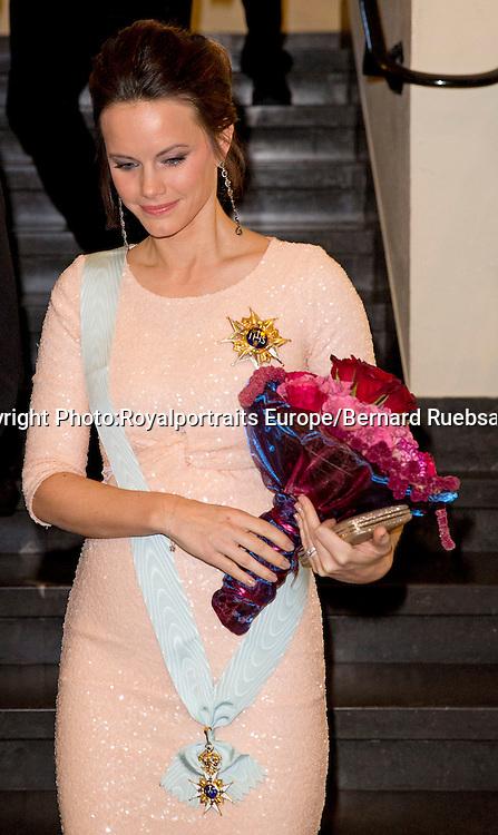 Stockholm 23-10-2015<br /> <br /> Attendance at the Royal Swedish Academy of Engineering Sciences' formal gathering<br /> <br /> Prince Carl Philip, Princess Sofia <br /> <br /> <br /> Photo: Royalportraits Europe/Bernard Ruebsamen