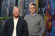 SHOT 11/10/20 4:36:17 PM - Corey Knoebel and Tyler Patrick, Attorneys with Patrick & Knoebel LLC in Denver, Colorado. (Photo by Marc Piscotty / © 2020)