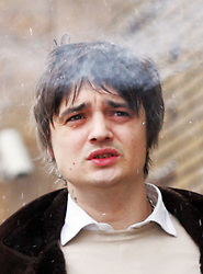 © under license to London News Pictures. 2/12/10 Pete Doherty arriving at Bow magistrates court this morning (02/12/2010) to face charges of cocaine possession. Doherty was questioned by detectives investigating the suspected overdose death of heiress Robin Whitehead. Two of his friends also appeared on charges of cocaine possesion. Photo credit should read: Olivia Harris/ London News Pictures