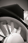 Tail rotor of a Eurocopter EC120B.
