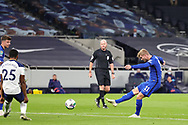 Goal 0-1 Chelsea forward Timo Werner (11) scores a goal during the EFL Cup Fourth Round match between Tottenham Hotspur and Chelsea at Tottenham Hotspur Stadium, London, United Kingdom on 29 September 2020.