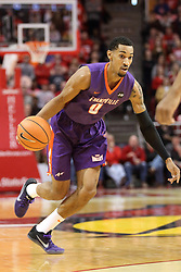03 February 2018:  Ryan Taylor during a College mens basketball game between the Evansville Purple Aces and Illinois State Redbirds in Redbird Arena, Normal IL