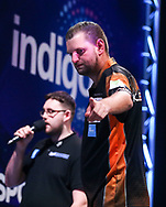 Martijn Kleermaker during the BDO World Professional Championships at the O2 Arena, London, United Kingdom on 9 January 2020.