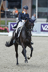 Loos Franka, (NED), GG Flow Cadanza<br /> Equine MERC Young Riders Team Test<br /> Dutch Championship Dressage - Ermelo 2015<br /> © Hippo Foto - Dirk Caremans<br /> 17/07/15