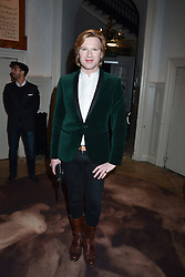 Henry Conway at PPQ LFW Autumn Winter 2017 show, Crypt on the Green, Clerkenwell, London England. 17 February 2017.