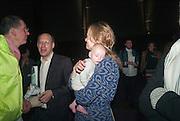 DANTONY GORMLEY; DARIEN LEADER;CLEMENTINE LEADER; MARY HORLOCK; CORNELIA PARKER, The Tanks at Tate Modern, opening. Tate Modern, Bankside, London, 16 July 2012