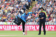 Sussex's Will Beer during the Vitality T20 Finals Day semi final 2018 match between Sussex Sharks and Somerset at Edgbaston, Birmingham, United Kingdom on 15 September 2018.