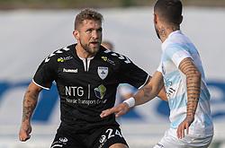 Denis Fazlagic (Kolding IF) under kampen i 1. Division mellem FC Helsingør og Kolding IF den 24. oktober 2020 på Helsingør Stadion (Foto: Claus Birch).