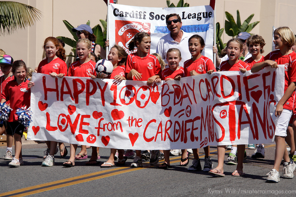 Cardiff by the Sea 100th Birthday Parade: Cardiff Soccer league