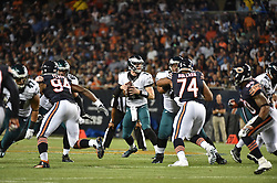 during the game against the Chicago Bears at Solider Field on Sep 19, 2016 in Chicago, IL. (Photo by John Geliebter/Philadelphia Eagles)