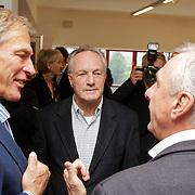 """NLD/Amsterdam/20111109- Boekpresentatie Ard Schenk """" Je tweede Jeugd begint nu"""", Johan Cruijff in gesprek met Ard Schenk"""