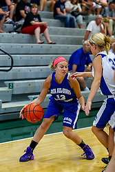 21 June 2014:  Emily Halliday (11), 2014 Girls Illinois Basketball Coaches Association All Start game at the Shirk Center in Bloomington IL