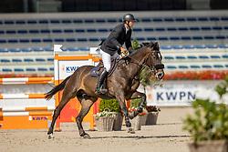Franssen Tim, NED, Koulon van het Maaskantje<br /> Nationaal Kampioenschap KWPN<br /> 5 jarigen springen final<br /> Stal Tops - Valkenswaard 2020<br /> © Hippo Foto - Dirk Caremans<br /> 19/08/2020