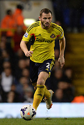 Sunderland's defender Phillip Bardsley   - Photo mandatory by-line: Mitchell Gunn/JMP - Tel: Mobile: 07966 386802 07/04/2014 - SPORT - FOOTBALL - White Hart Lane - London - Tottenham Hotspur v Sunderland - Premier League