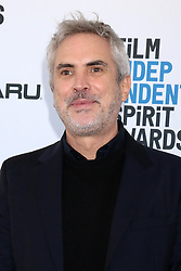 February 23, 2019 - Santa Monica, CA, USA - LOS ANGELES - FEB 23:  Alfonso Cuaron at the 2019 Film Independent Spirit Awards on the Beach on February 23, 2019 in Santa Monica, CA (Credit Image: © Kay Blake/ZUMA Wire)