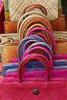 Indonesie, Bali, Artisanat à Ubud, sac à main // Indonesia, Bali, Handicraft at Ubud, bag