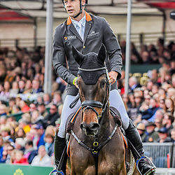 Christopher Burton Badminton Horse Trials Gloucester England UK May 2019, Christopher Burton equestrian event representing Australia riding Graf Liberty in the 2019 Badminton Horse Trials Badminton Horse trials 2019 Winner Piggy French wins the title