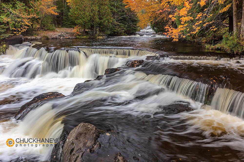 Bond Creek near Paulding in the Upper Peninsula of Michigan, USA