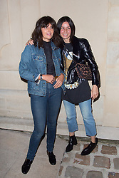 Virginie Viard and Leila Smara arriving the Chanel 'Code Coco' Watch Launch Party as part of the Paris Fashion Week Womenswear Spring/Summer 2018 on October 3, 2017 in Paris, France, October 03 2017. Photo by Nasser Berzane/ABACAPRESS.COM