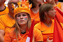 07-07-2019 FRA: Final USA - Netherlands, Lyon<br /> FIFA Women's World Cup France final match between United States of America and Netherlands at Parc Olympique Lyonnais. USA won 2-0 / Support Orange, Oranje