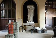 Réception à l'Ecole des Beaux-Arts de Paris.<br /> Reception at the Fine Arts School of Paris.