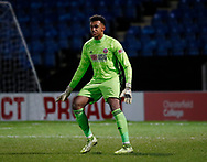 Jordan Amissah of Sheffield Utd during the Professional Development League  match at the Proact Stadium, Chesterfield. Picture date: 3rd February 2020. Picture credit should read: Simon Bellis/Sportimage