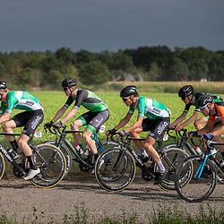06-09-2020: Wielrennen: Omloop Valkenswaard: Valkenswaard <br />Jasper Schouten, Jarno Gmelich Meijling, Chiel Schulten, Wout Verbeek