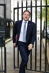 © Licensed to London News Pictures. 29/10/2019. London, UK. Grant Shapps Secretary of State for Transport arrives at 10 Downing Street for a Cabinet meeting …. As Boris Johnson tries to get his snap election poll through Parliament again this week. Photo credit: Alex Lentati/LNP