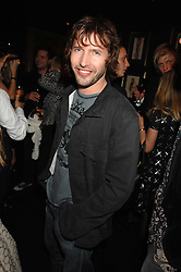 Singer JAMES BLUNT at a party to celebrate the publication of the 2007 Tatler Little Black Book held at Tramp, 40 Jermyn Street, London on 7th November 2007.<br />