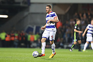 Queens Park Rangers striker Conor Washington (9) during the EFL Sky Bet Championship match between Queens Park Rangers and Brighton and Hove Albion at the Loftus Road Stadium, London, England on 7 April 2017.