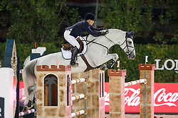 Brown Jessica, (AUS), Casco, FEI President<br /> Logines Challenge Cup<br /> Furusiyya FEI Nations Cup Jumping Final - Barcelona 2015<br /> © Dirk Caremans<br /> 25/09/15