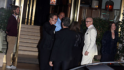 guests including Gwyneth Paltrow, Robert Downey Jr., David Arquette and Diane Keaton arriving at Jennifer Anistons 50th Birthday party in Los Angeles, CA. 09 Feb 2019 Pictured: Robert Downey Jr.Robert Downey Jr. Photo credit: Rachpoot/MEGA TheMegaAgency.com +1 888 505 6342