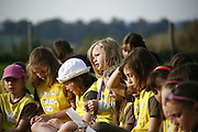 Northamptonshire Brownies having a day of fun at the county Jubilee campsite.