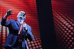 December 21, 2017 - Turin, Piedmont, Italy - Biagio Antonacci performing live  for his ''Dediche e manie'' tour at the Pala Alpitour on 21 December 2017 in Turin, Italy. (Credit Image: © Massimiliano Ferraro/NurPhoto via ZUMA Press)