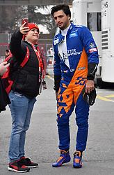 February 20, 2019 - Barcelona, Spain - Carlos Sainz (McLaren) during the Formula 1 test in Barcelona, on 20th February 2019, in Barcelona, Spain. (Credit Image: © Joan Valls/NurPhoto via ZUMA Press)