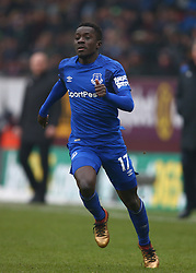 Everton's Idrissa Gueye during the Premier League match at Turf Moor, Burnley.