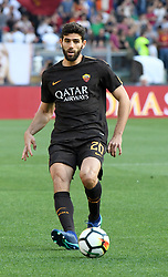 April 28, 2018 - Rome, Italy - Federico Fazio during the Italian Serie A football match between A.S. Roma and Chievo at the Olympic Stadium in Rome, on april 28, 2018. (Credit Image: © Silvia Lore/NurPhoto via ZUMA Press)