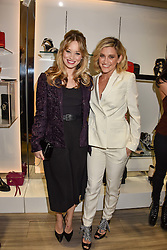 Left to right, Kimberly Wyatt and Ashley Roberts at a party to launch Ashley Robert's new footwear range Allyn held ay Larizia, 74 St.John's Wood High Street, London England. 8 February 2017.
