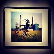 """Modern Industry, Kodak Power Plant #1""<br /> 20""x24 archival pigment print, mounted in custom steel frame, #1 of 5."