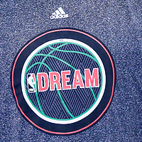 19 January 2015: Close view of NBA logo Dream, homage to Martin Luther King Jr. day on Boston Celtics forward Gerald Wallace (45) during the Los Angeles Clippers 102-93 victory over the Boston Celtics, at the Staples Center, Los Angeles, California, USA.