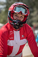 2018 UCI BMX Supercross<br /> Round 7 Santiago Del Estero (Argentina)<br /> Elite Women<br /> Practice<br /> #5 (CHRISTENSEN Simone Tetsche) DEN