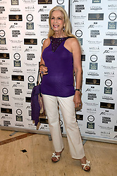 © Licensed to London News Pictures. 16/09/2016. LADY COLIN CAMPBELL attends the Kolchagov Barba SS 17 fashion show during London Fashion Week.  London, UK. Photo credit: Ray Tang/LNP